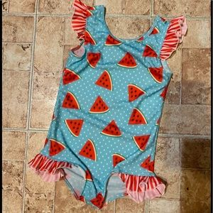 Little girls bathing suit